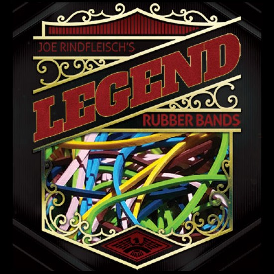 Legend - Joe Rindfleisch's Rainbow Rubber Bands (Combo Pack)