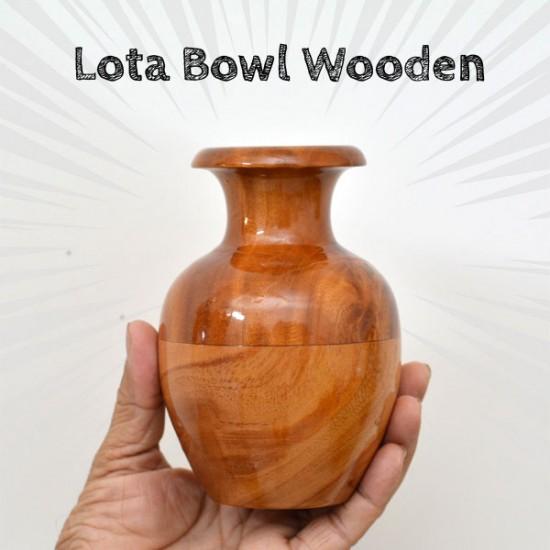 Lota Bowl Wooden