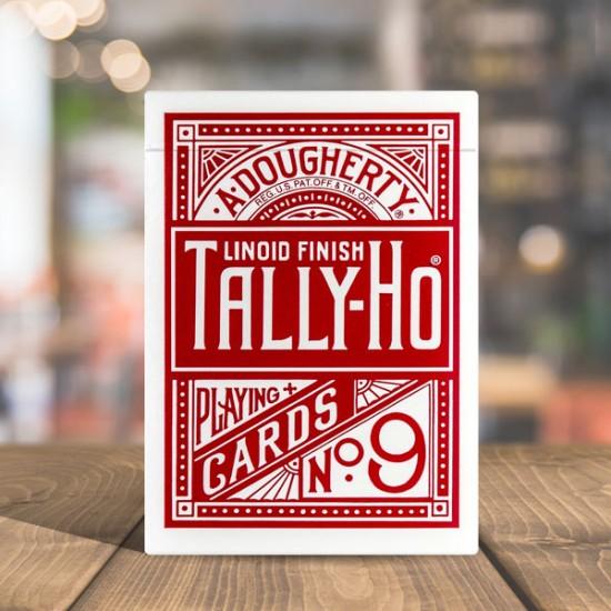 Tally Ho Fan Back - Red