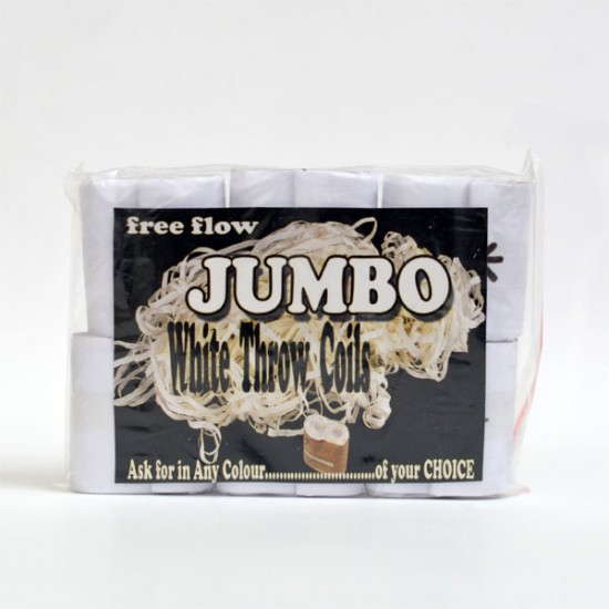 Jumbo Throw Coil (white)