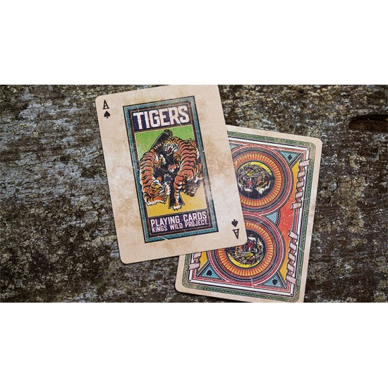 SOLOMAGIA Kings Wild Tigers Playing Cards Deck of Cards