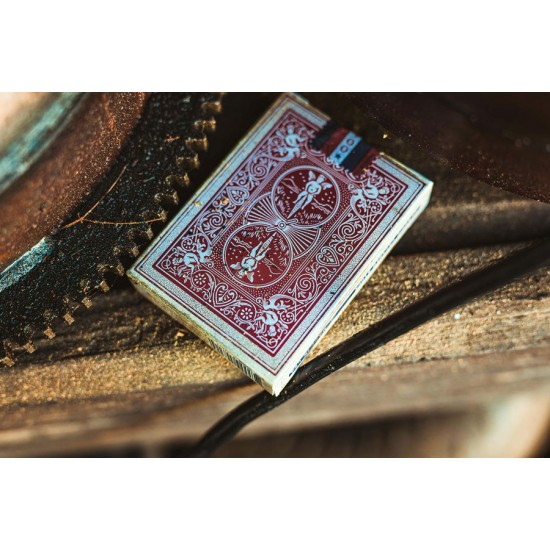 Bicycle 1900 Red Playing Cards