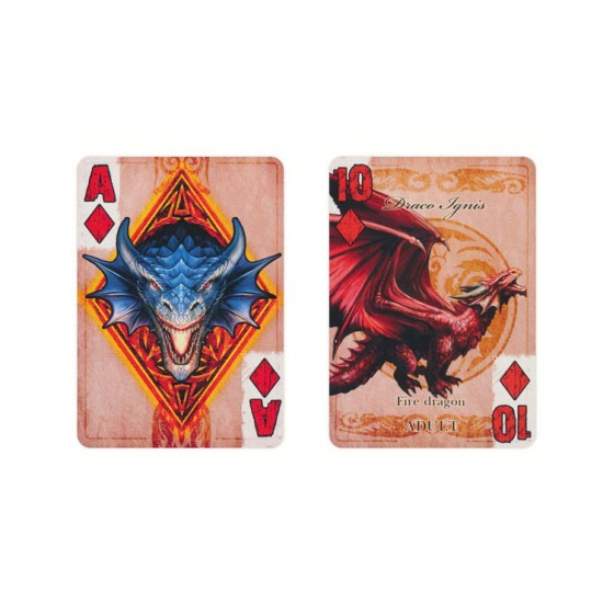 Bicycle Anne Stokes Age of Dragons Playing Cards