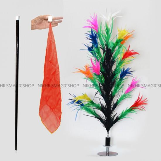 Vanishing Cane To Flower Magnetic (Multicolor)