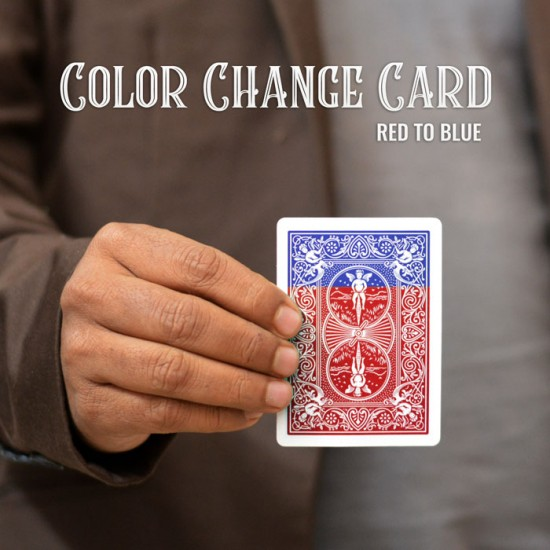 Color Change Card ( Red To Blue )