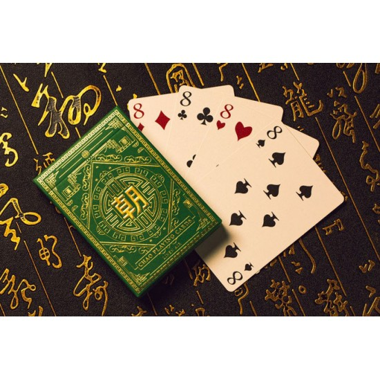 Chao (Green) Playing Cards