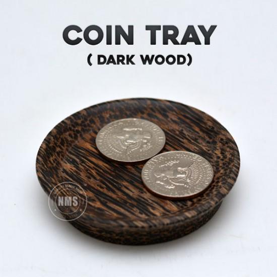 Coin Tray (Dark Wood)