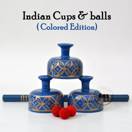 Indian Cups & Balls Set (Colored Edition)