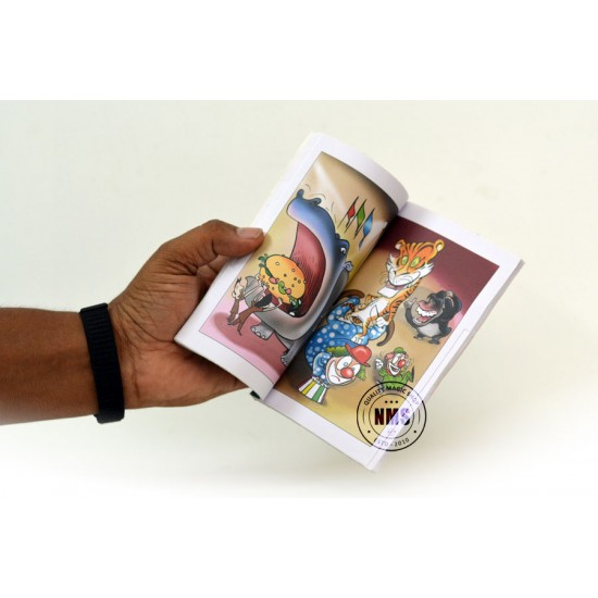 Magic Coloring Book Small (Circus Design)