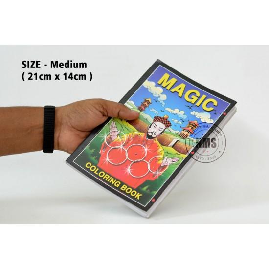 Magic Coloring Book Medium (Magic Design)