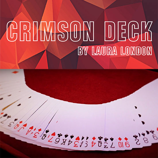 Crimson Deck by Laura London
