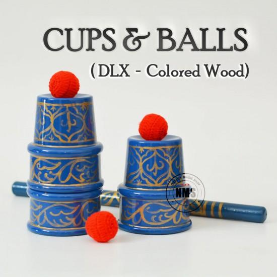 Cups & Balls Deluxe Set (Wood)