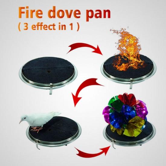 Fire dove pan 3 effect