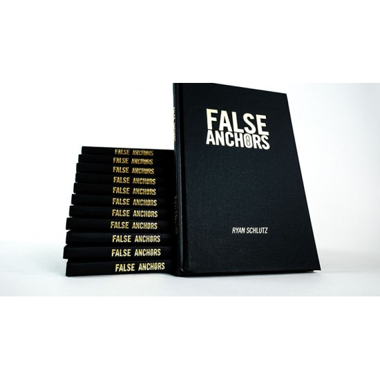 False Anchors Set, Book and Gimmick by Ryan Schultz