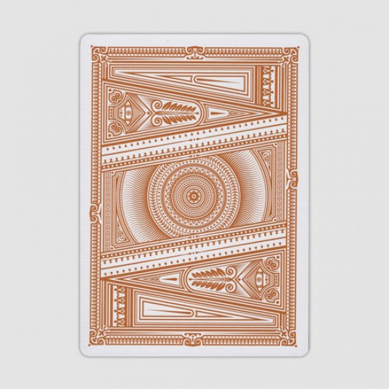 Invocation Copper Playing Cards