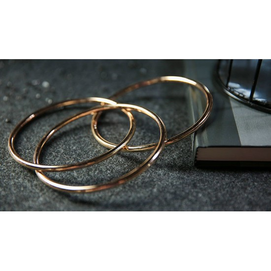 "4"" Linking Rings (Gold) by TCC"