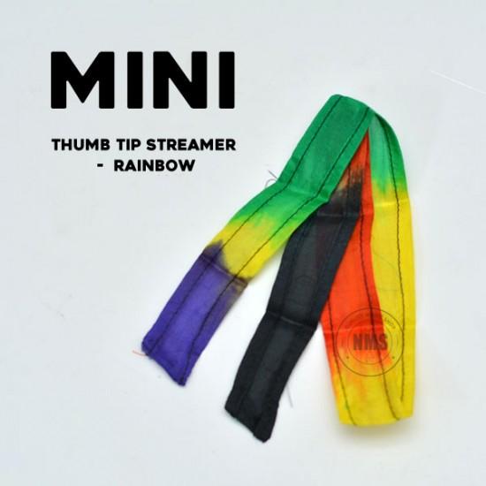 Mini Thumb Tip Streamer (Multicolor)