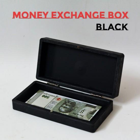 Money Exchange Box (Black)