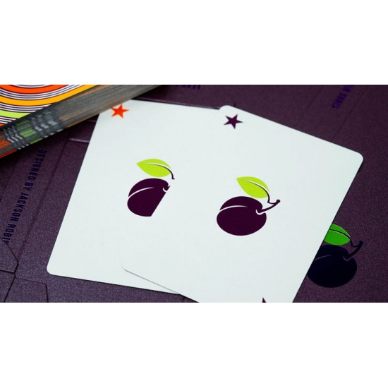 Plum Pi Playing Cards