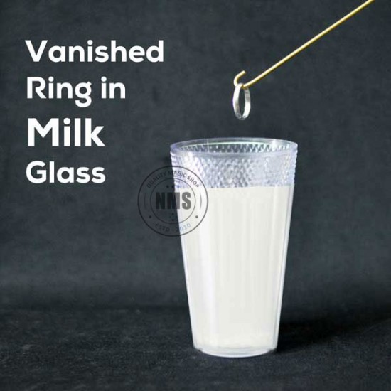 Vanished Ring in Milk