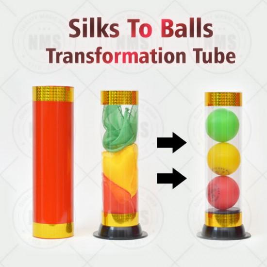 Silks To Balls Transformation Tube