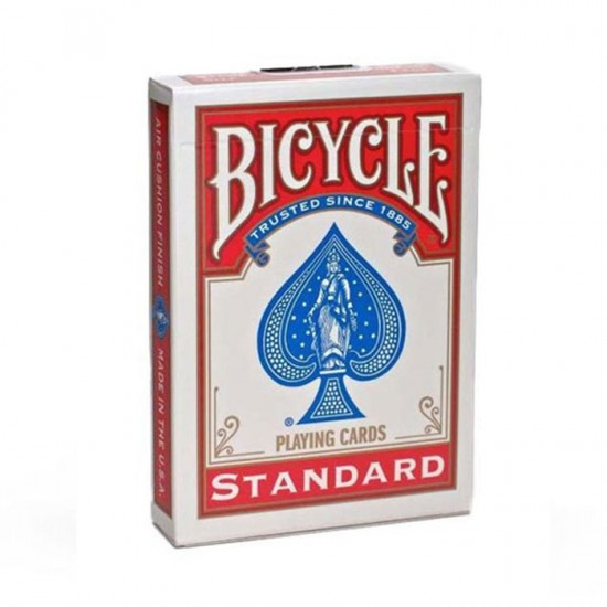 Bicycle Standard Index Playing Poker RED