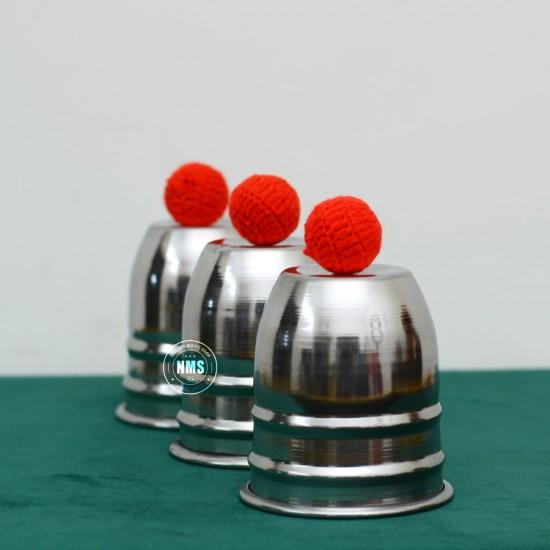Cups & Balls (Steel)