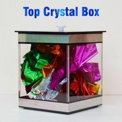 Stage Magic Trick Mini Dyeing Mirror Box