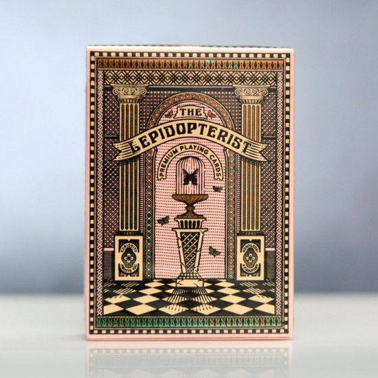 Lepidopterist Playing Cards