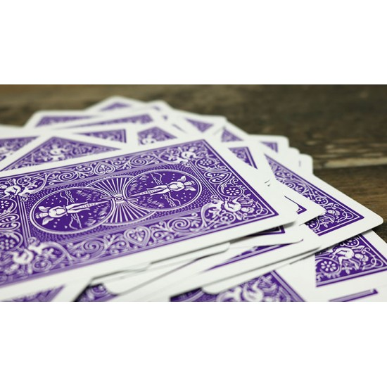 Bicycle Purple Playing Cards