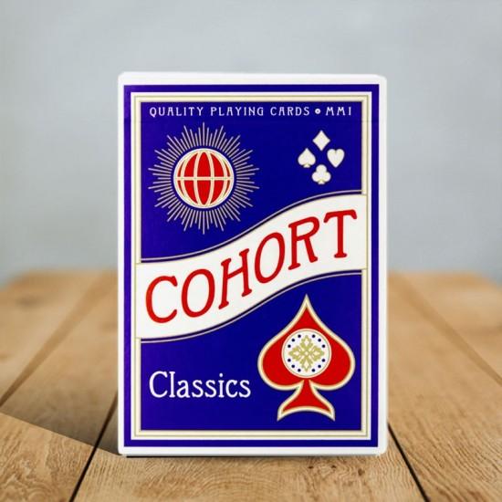 Cohorts Blue (Luxury-pressed E7) Playing Cards