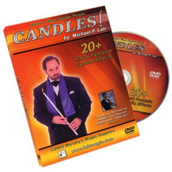 Candles! by Michael Lair ( DVD )