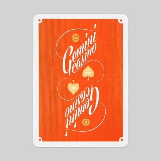 Gemini Casino 1975 Orange