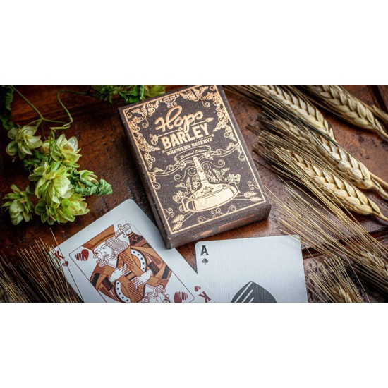 Hops & Barley (Copper) Playing Cards