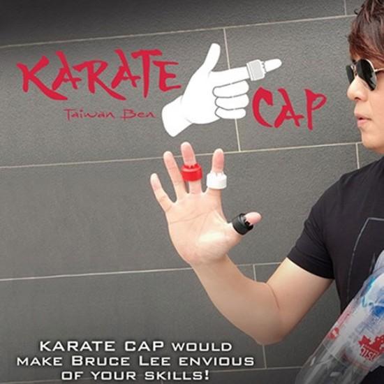 KARATE CAP (White) by Taiwan Ben - Trick