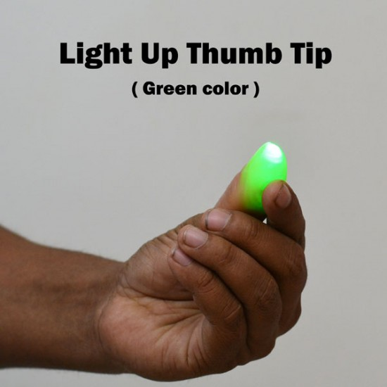 Light Up Thumb Tip (Green)