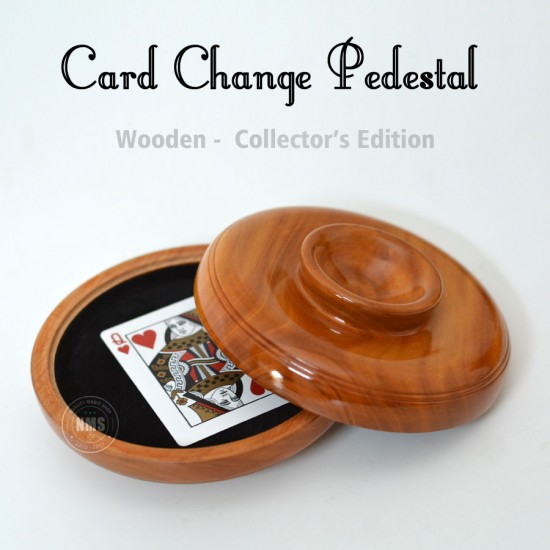 Card Change Pedestal (wood)