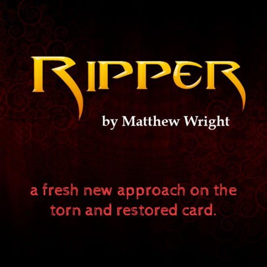Ripper (with DVD and Gimmicks) by Matthew Wright