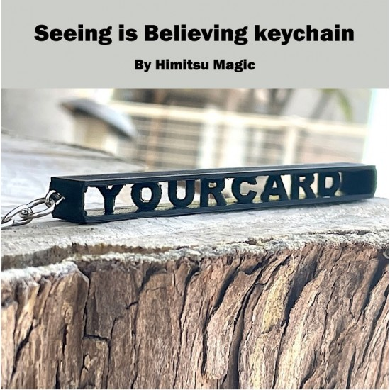 Seeing is Believing Keychain by Himitsu Magic
