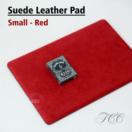 Suede Leather Pad Small (Red) by TCC