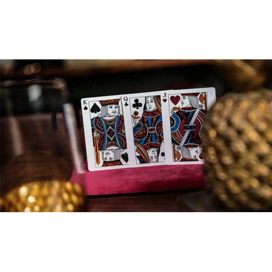 Luxury Sword T (Blue) Playing Cards by TCC