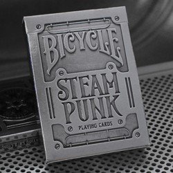 Silver Steampunk Bicycle Deck
