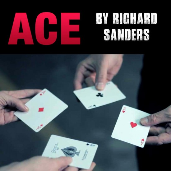 ACE by Richard Sanders ( Gimmick + DVD )