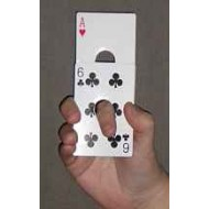 Card in Finger