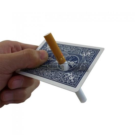 Cigarette Thru Card - Red