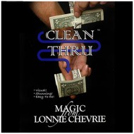 Clean Thru - Clear Thru by Lonnie Chevrie and Kozmo Magic ( VIDEO DOWNLOAD )