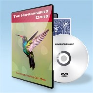 Hummingbird Card ( Gimmick + DVD )