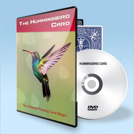 Hummingbird Card ( Gimmick + DVD )