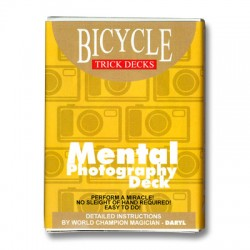 Mental Photo Deck Bicycle (RED)