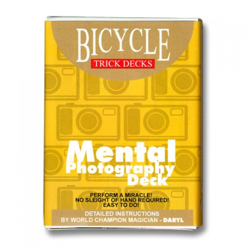 Mental Photo Deck Bicycle (BLUE)
